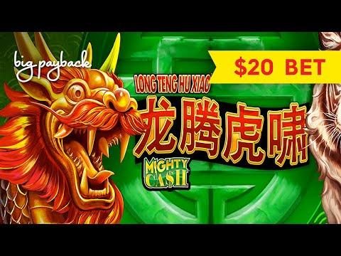 Mighty Cash Dragon Flies Slot – ALL FEATURES   $20 Bet Bonuses!