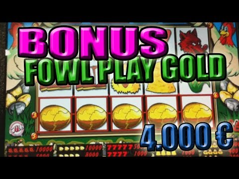 Super Bonus FOWL PLAY (gallina) 4.000 € [CLASSIC] – SLOT MACHINE da BAR